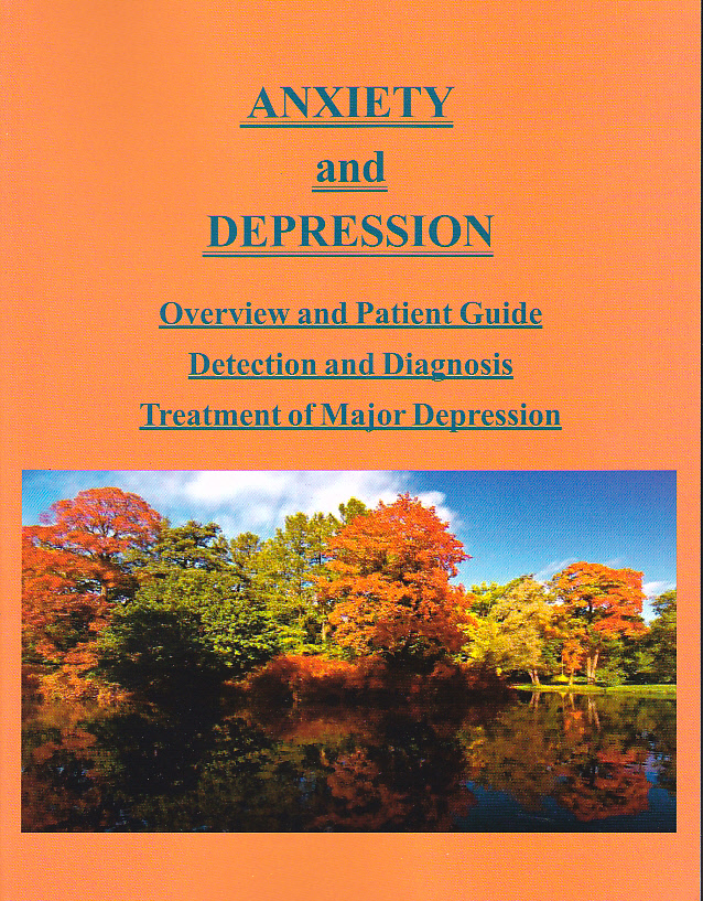 Anxiety & Depression- Book w/Test