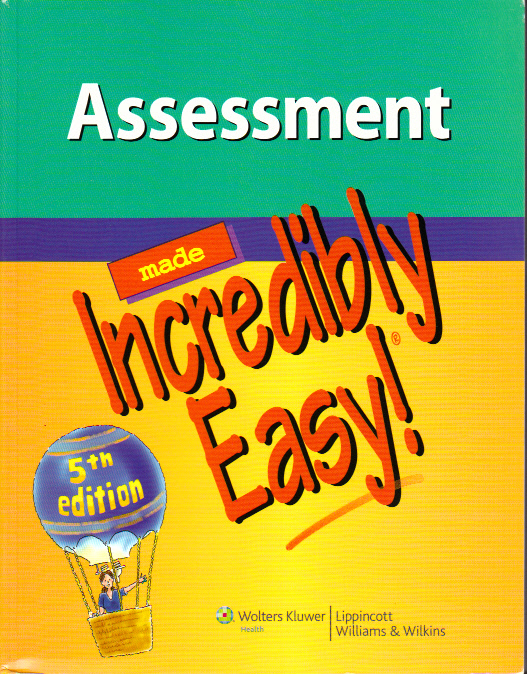 Assessment Made Incredibly Easy- Book w/Test